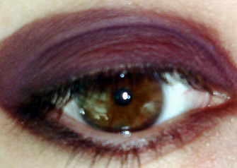 Gothic Deep Purple Eye Shadow