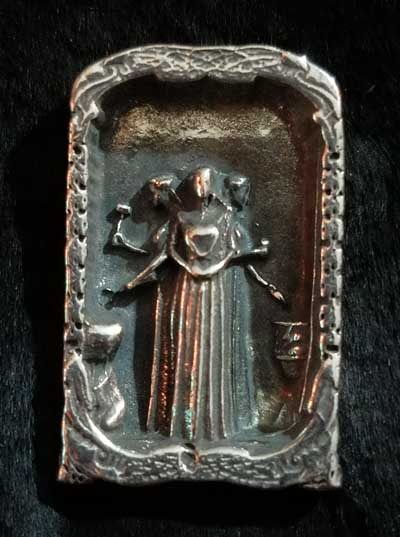 Celtic Goddess Brigid Pendant