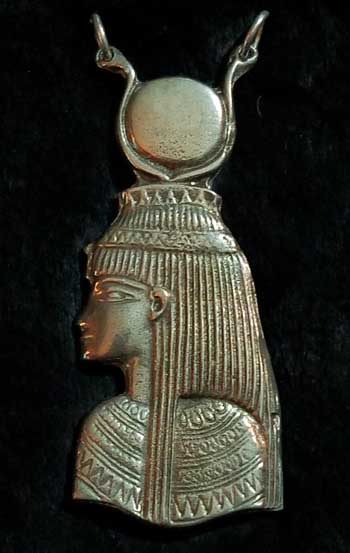 Goddess Isis Egyptian Pendant