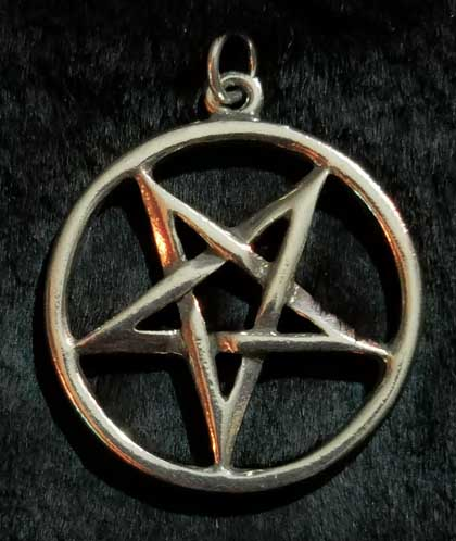 Inverted Pentagram Pendant
