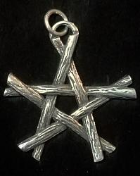Pentagram of Branches Pendant