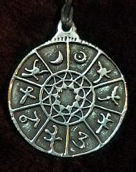 Zodiac Wheel Pendant