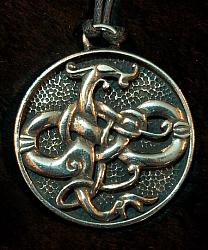 Gotland Dragon Pendant