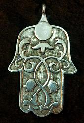 Hamsa Hand Pendant
