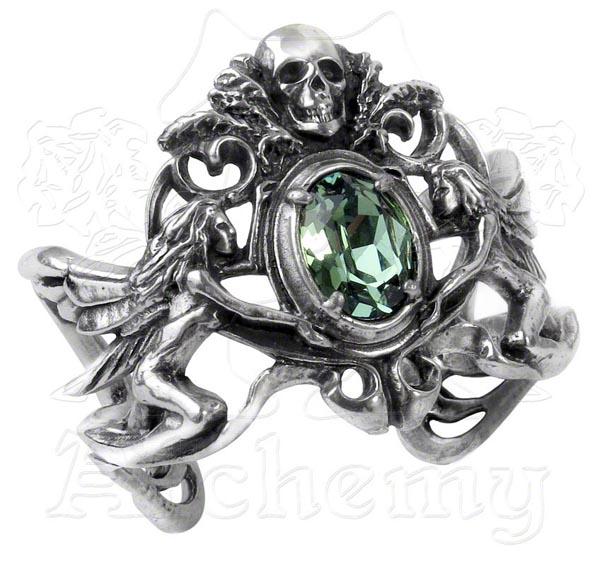 Alchemy Gothic La Fleur de Baudelaire Fairy Bracelet