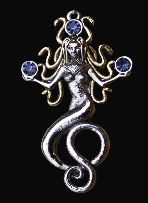 Gorgon Medusa Pendant