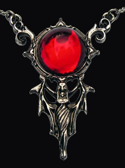 Blood Moon Rising Goddess Pendant