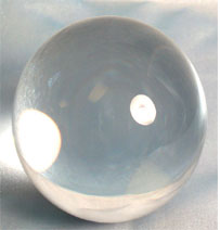 Large Clear Crystal Ball 150mm for Divination