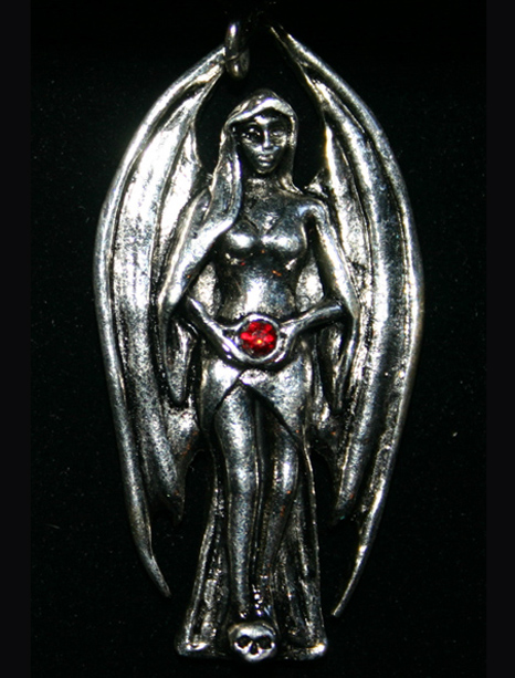Lilith Angel of Dark Wisdom Pendant